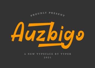 Auzbigo Font