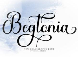 Begtonia Font