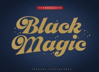 Black Magic Font