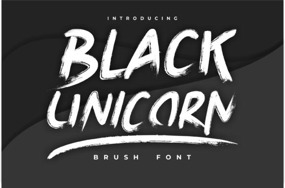 Black Unicorn Font