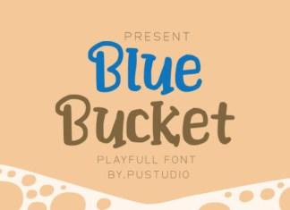 Blue Bucket Font