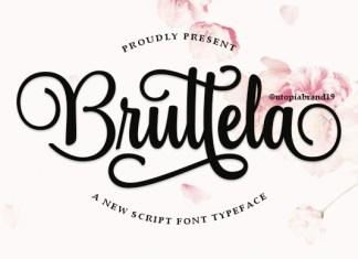 Bruttela Font