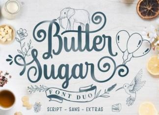 Butter Sugar Font