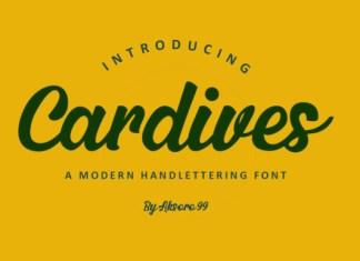 Cardives Font
