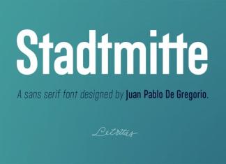 Stadtmitte Font