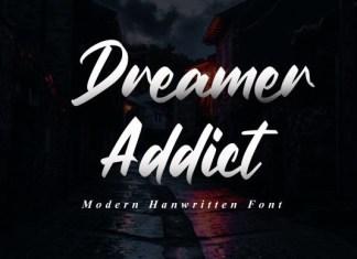 Dreamer Addict  Font