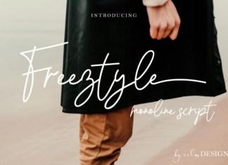 Freeztyle Font