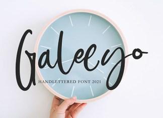 Galeeyo Font