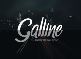 Galline Font