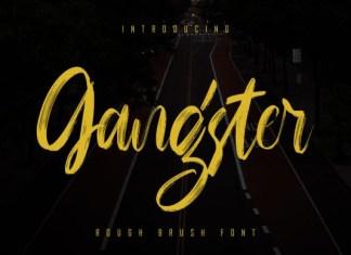 Gangster Font