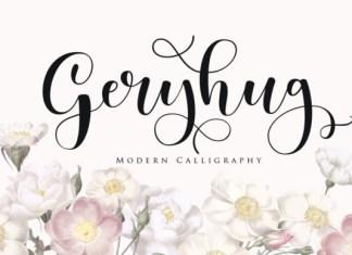 Geryhug Font