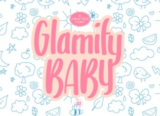 Glamify Baby Font