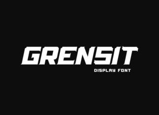 Grensit Font