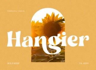 Hangier Font