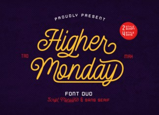 Higher Monday Font