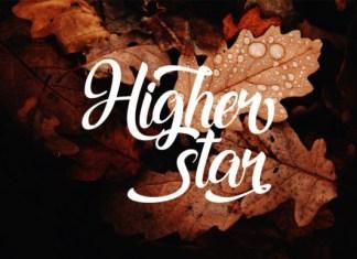 Higher Star Font