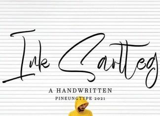 Ink Sartteg Font