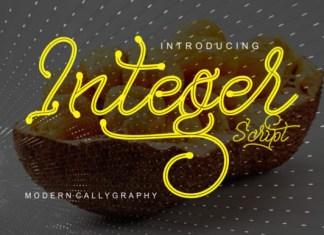 Integer Font