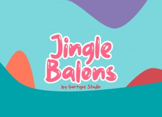Jingle Balons Font