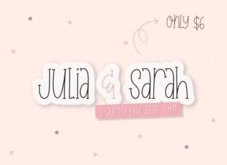 Julia & Sarah Font
