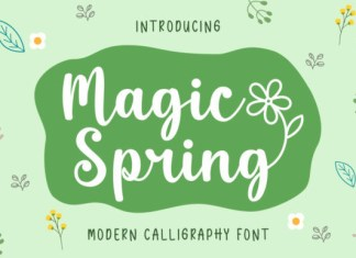 Magic Spring Font