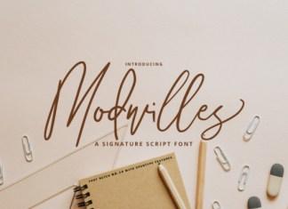 Modwilles Font