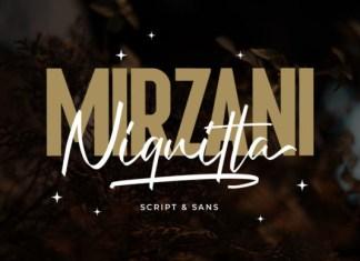 Niquitta Mirzani Font