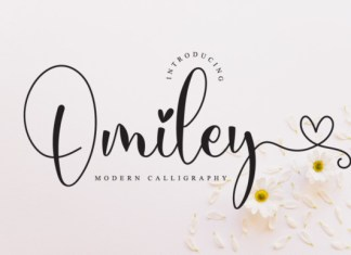 Omiley Font