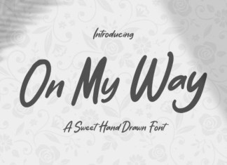 On My Way Font