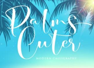 Palms Cuter Font