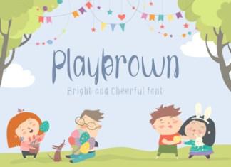 Playbrown Kid Font