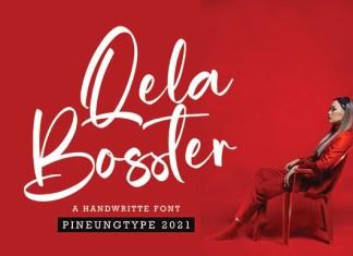 Qela Bosster Font