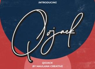 Qojack Font