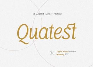 Quatest Font