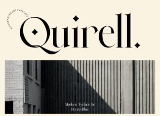 Quirell Font
