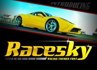 Racesky Font