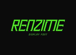 Renzime Font