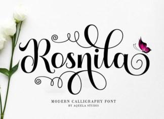 Rosnila Font