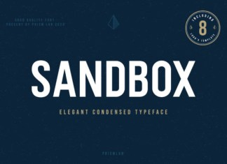 Sandbox Font