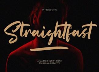 Straightfast Font