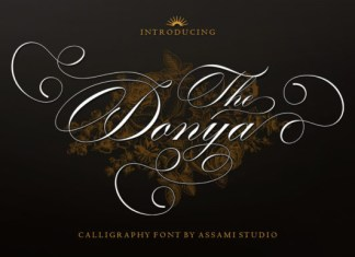 The Donya Font