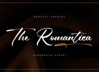 The Romantica Font