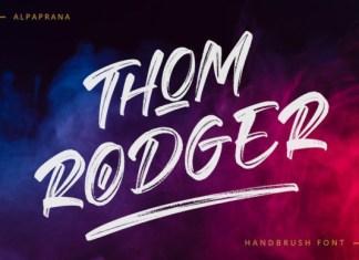 Thom Rodger Font
