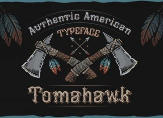 Tomahawk Font