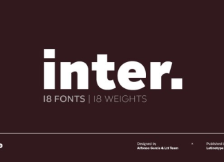 Inter Font