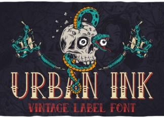 Urban Ink Font