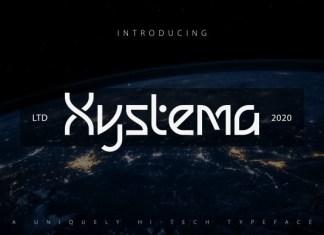 Xystema Font