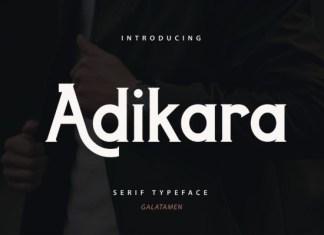 Adikara Font