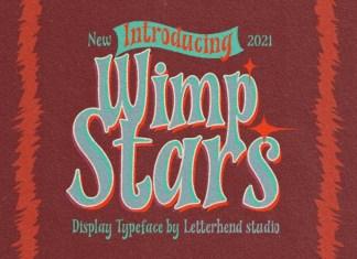 Wimp Stars Font