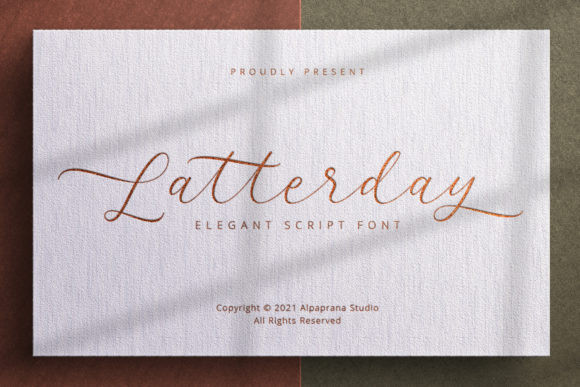 Latterday Font